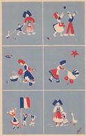 CPA - SAINTE-MARIE-AUX-MINES (68) - CARTE DESSINATEUR - LIBÉRATION 1944/1945 (n°1) - Sainte-Marie-aux-Mines