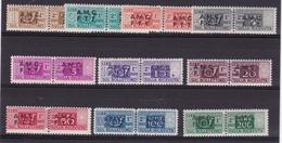 1947 Italia Italy Trieste A  PACCHI POSTALI 10 Valori 1,2,3,4,5,10,20,50,100,200L MNH** Parcel Post - Trieste