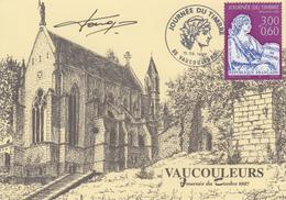 Carte  Locale  1er  Jour    FRANCE   JOURNEE  Du  TIMBRE   VAUCOULEURS   1997 - Stamp's Day