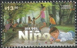 2018 MÉXICO DÍA DEL NIÑO, MNH CHILDREN'S DAY,  CHILDREN PLAYING IN THE PARK - Mexico