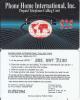 PUERTO RICO - World Map, P.H.I.I. Prepaid Card(plastic) $25, Used - Puerto Rico