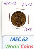 MEC 62 - COLONIA MACAU PORTUGUES / 10 AVOS 1968 - AA.01 - Macau