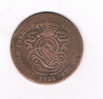2 CENTIMES  1835   BELGIE /4906/ - 02. 2 Centimes