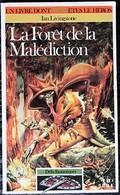 LDVELH - DEFIS FANTASTIQUES - 3 - La Forêt De La Malédiction - Gallimard 1992 - Giochi Di Società