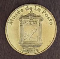 75 PARIS MUSÉE DE LA POSTE MÉDAILLE ARTHUS BERTRAND 2005 JETON MEDALS COINS TOKENS - Arthus Bertrand