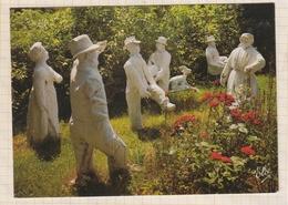 9AL1549 CLERMONT FERRAND FONTAINE PETRIFIANTE PERSONNAGES GRANDEUR NATURE PETRIFIE PAR L'EA 2 SCANS - Clermont Ferrand