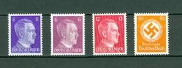 Germany. Third Reich. Lot Hitler 2 X 6 Pf. +12 Pf.+ Official 50 Pf. MNH. Scott# 510.513.091. - Germany