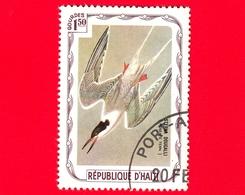 HAITI - Etichetta Fantasia - 1975 - Uccelli - Birds - Oiseaux -  Sterna Dougallii - 1.50 - Etichette Di Fantasia