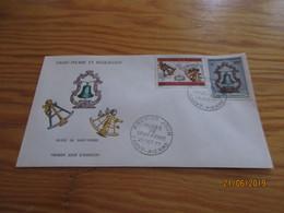 Enveloppe 1er Jour Saint-Pierre Et Miquelon Musée 25 Oct 71 - St.Pierre Et Miquelon