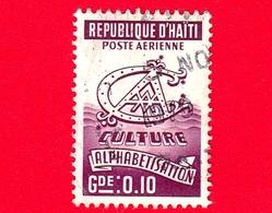 HAITI - Usato - 1969 - Cultura - Alfabetizzazione - 0.10 - Haiti