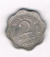 2 NAYE 1957  INDIA /4919/ - Inde