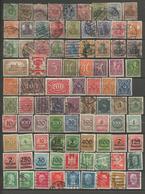 Allemagne - Reich - Petite Collection De 140 Timbres Oblitérés (quelques Neufs) - Quelques 2ème Choix Non Comptés - Stamps
