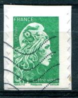 France 2018 - Autoadhésif YT 1598 (o) Sur Fragment - France