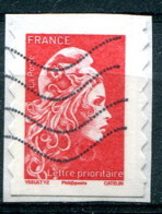 France 2018 - Autoadhésif YT 1599 (o) Sur Fragment - France