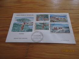 Enveloppe 1er Jour Saint-Pierre Et Miquelon Tourisme 30 Avril 1969 - St.Pierre Et Miquelon