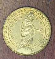 84 AVIGNON CATHÉDRALE NOTRE DAME LA VIERGE MÉDAILLE ARTHUS BERTRAND 2006 CG JETON MEDALS TOKENS COINS - Arthus Bertrand