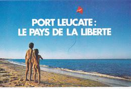 PORT LEUCATE Le Pays De La Liberté  - Enfants Nus - - Leucate