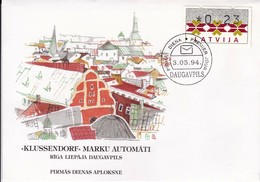 Litauen, 1994, ATM-FDC - Litauen