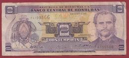 Honduras 2 Lempiras 2004 Dans L 'état - Honduras