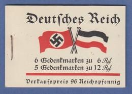 Deutsches Reich 1933 Fridericus Freimarken-Heftchen MH 32.2 Kpl.  - Deutschland