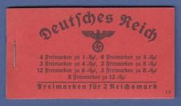 Deutsches Reich 1940 Hindenburg Markenheftchen MH 39.2 ** - Deutschland
