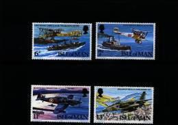 ISLE OF MAN - 1978  R.A.F. DIAMOND JUBILEE  SET MINT NH - Isola Di Man
