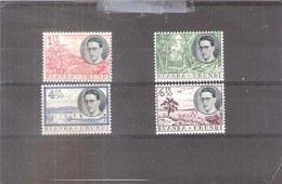 Ruanda-Urundi - 196/99 - Série Complète - XX/MNH - Ruanda-Urundi