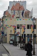 78 - Mantes La Jolie - Carte Postale Moderne - 5636  - Mur Peint - Mantes La Jolie
