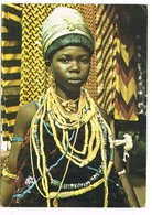 AFR-1248  GHANA : Krobe Girl Intraditional Attire - Ghana - Gold Coast