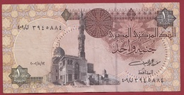 Egypte 1 Pound  2002    Dans L 'état - Egypte