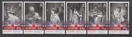 2013 Alderney QEII Coronation Anniversary  Complete Set Of 6 MNH @ Below Face Value !!! - Alderney