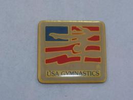 Pin's USA GYMNASTIC - Ginnastica