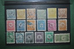 Turquie 1884/1908 Oblitérés Etat Variable (papier Sale) - 1858-1921 Empire Ottoman