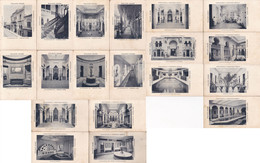 1910'S CPA RARISIME UNIQUE COMPLETE SERIE: PALACIO ARABE HIDROTERAPIAS Y SANATORIO MODELO, BUENOS AIRES - BLEUP - Châteaux