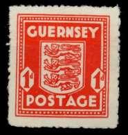 BES 2WK GUERNSEY Nr 2 Ungebraucht X979EDE - Besetzungen 1938-45