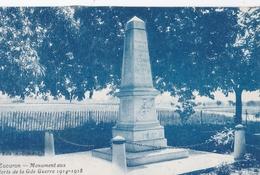 CPA : Cucuron Les Olivettes (84)  Monument Aux Morts De La Grande Guerre  Rare    Ed ???  TBE - Otros Municipios