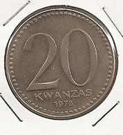 ANGOLE 20 KWANZAS 1978 RARE E RARE ETAT 2 - Angola