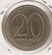 ANGOLA 20 KWANZAS 1978 RARE 4 - Angola