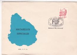 1983 COVER URUGUAY - XX ANIVERSARIO FUF. MATASELLOS ESPECIALES - BLEUP - Uruguay
