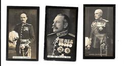 BL29 - CARTES CIGARETTES DRAPKIN - GENERAL SMITH DORRIEN - SIR DOUGLAS HAIG - GENERAL ALLENBY - 1914-18