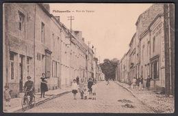 CPA -  Belgique, PHILIPPEVILLE, Rue De Namur - Philippeville
