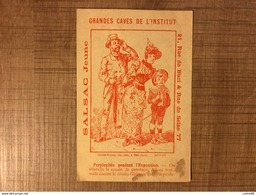 SALSAC JEUNE Perplexites Pendant L'exposition - Trade Cards