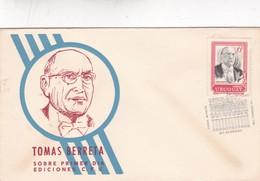 1969 COVER FDC URUGUAY - TOMAS BERRETA - BLEUP - Uruguay