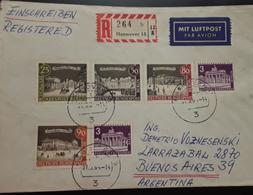 O) 1964 GERMANY -BERLIN -GERMAN OCCUPATION, BRANDENBURG GATE BERLIN -POSTDAM SQUARE -FISCHER BRIDGE - UNIVERSITY - OPE - [5] Berlin