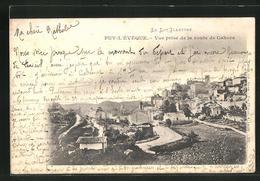 CPA Puy-l'Eveque, Vue Prise De La Route De Cahors - Cahors