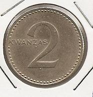 ANGOLA 2 KWANZAS RARE 10 - Angola