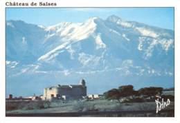 CPM - 66 - SALSES - Le Château Au Fond Le Canigou - Salses