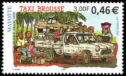 Mayotte 2001 Bush Taxi Unmounted Mint. - Mayotte (1892-2011)
