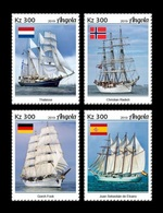 Angola 2019 Mih. 2136/39 Tall Ships MNH ** - Angola