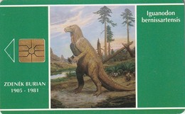 REPUBLICA CHECA. FAUNA - Dinosaur - Iguanodon. C33a, 23/11.93. (133) - Tarjetas Telefónicas